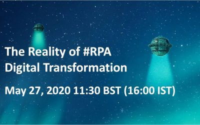 The Reality of #RPA Digital Transformation